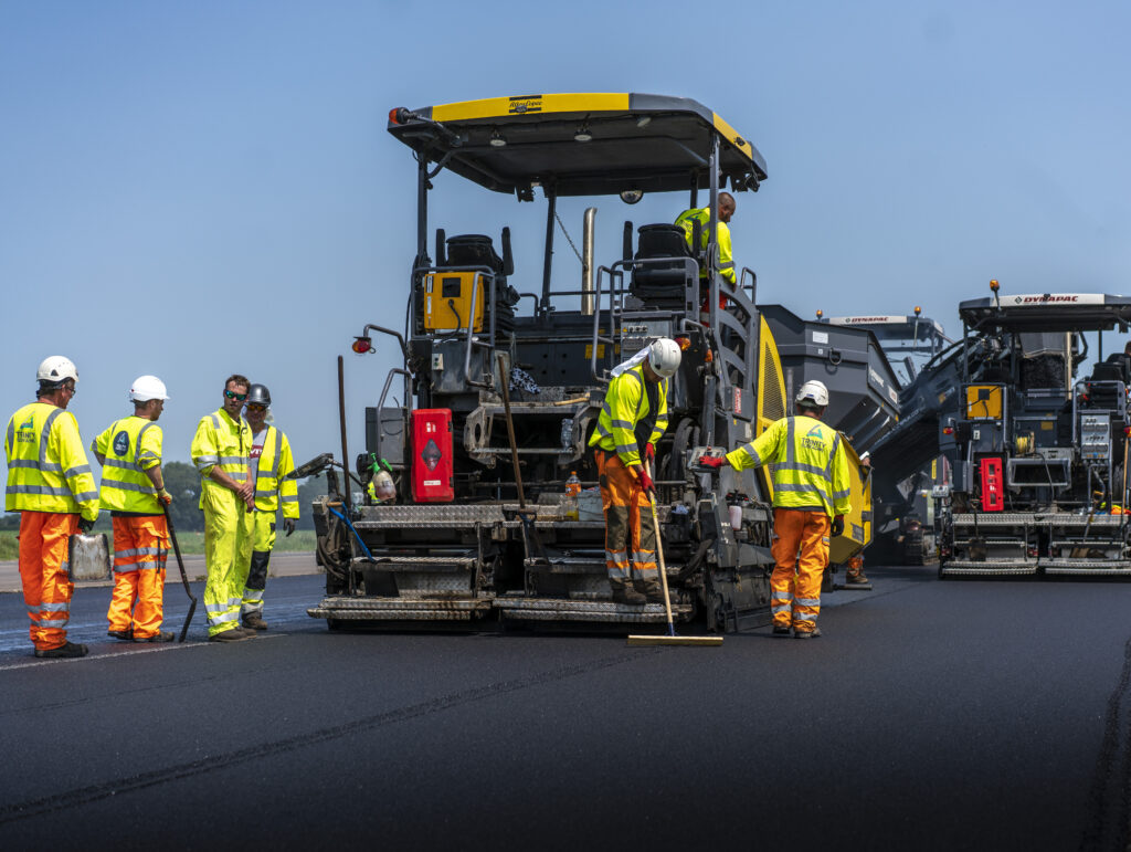 Surfacing photography Construction Photography