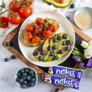 Food Recipe Development - Sweet Potato Toast for Nakd Bars, London, UK, Essex
